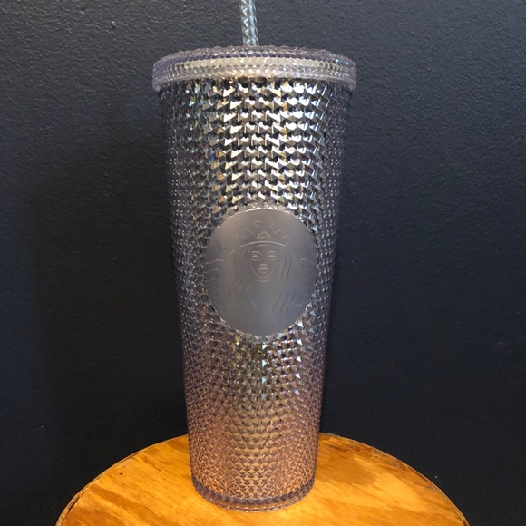 Starbucks silver studded tumbler cup